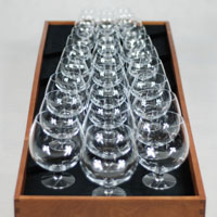 Layout of the glass harp